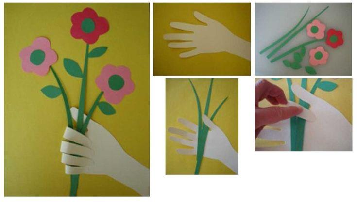 Шаблоны на 8 Марта своими руками