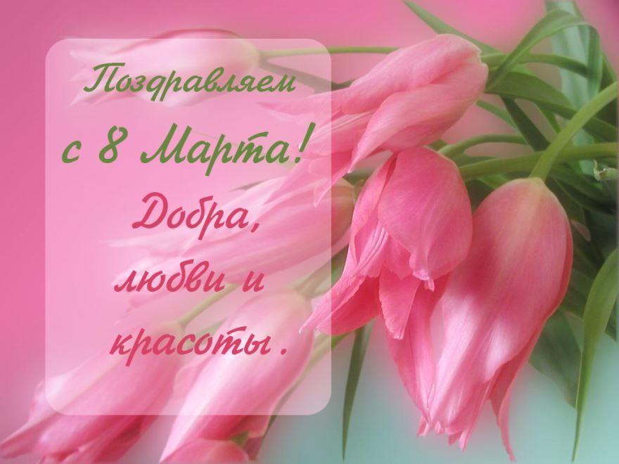 Поздравления 8 Марта коллегам женщинам, проза