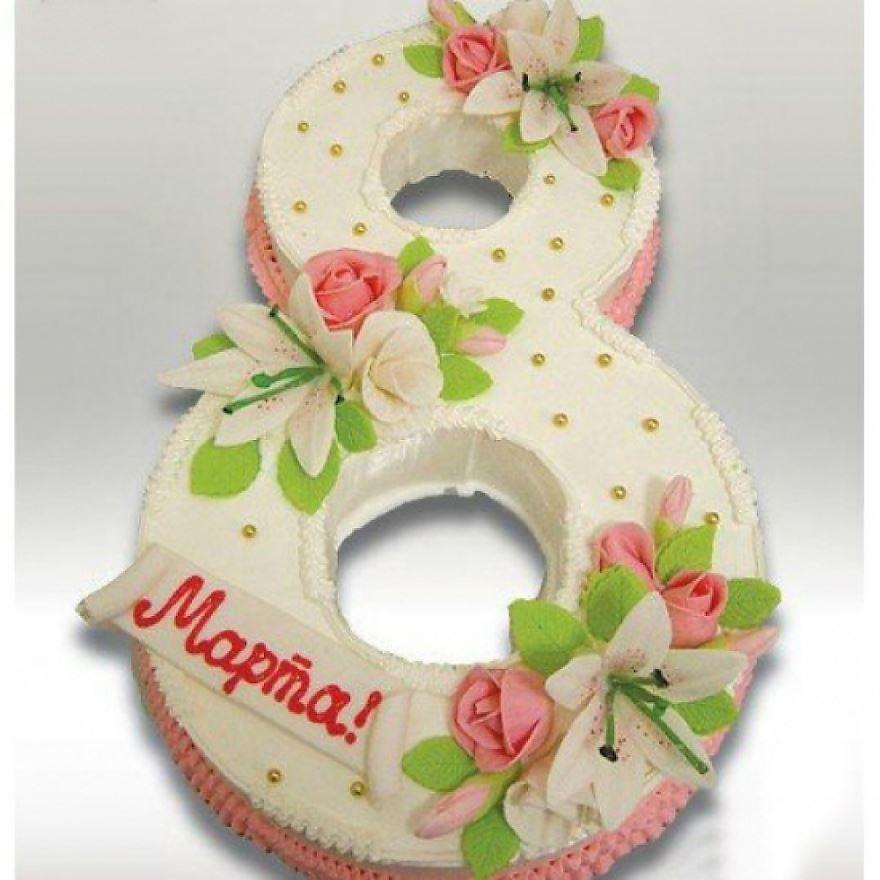 Торт для мамы на 8 Марта