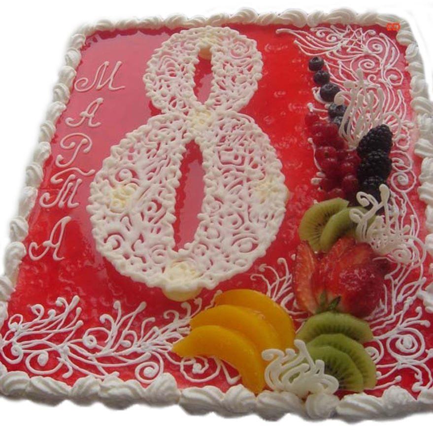Торт на 8 Марта, фото