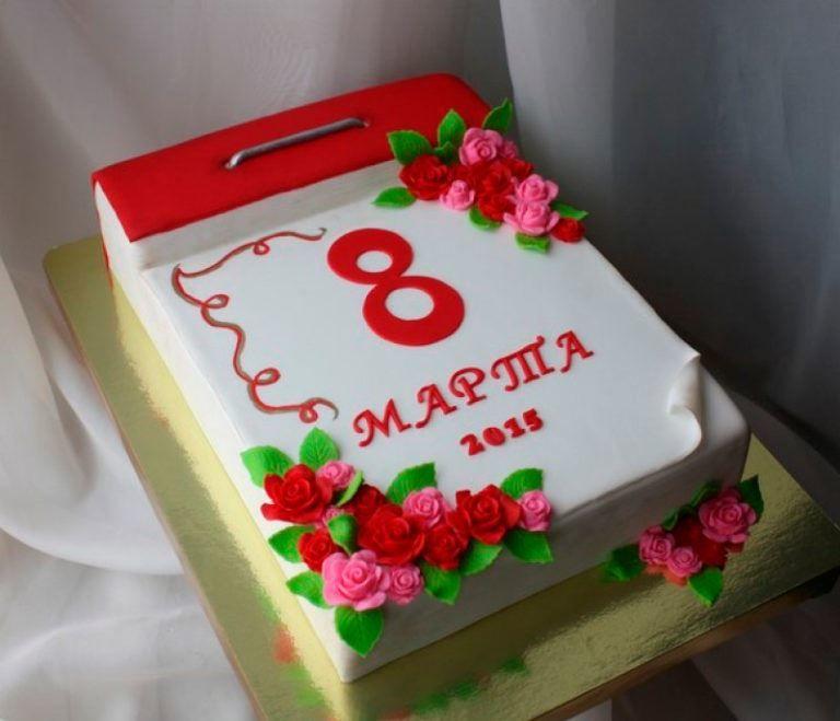 Торт на 8 Марта, своими руками
