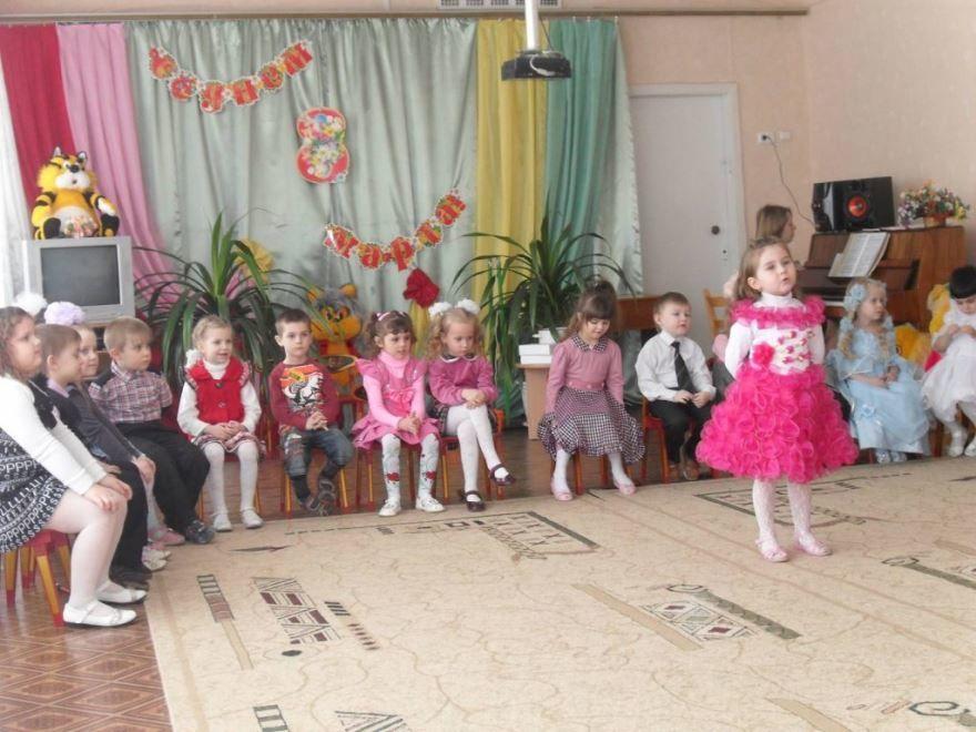 Поздравления с 8 Марта в детском саду