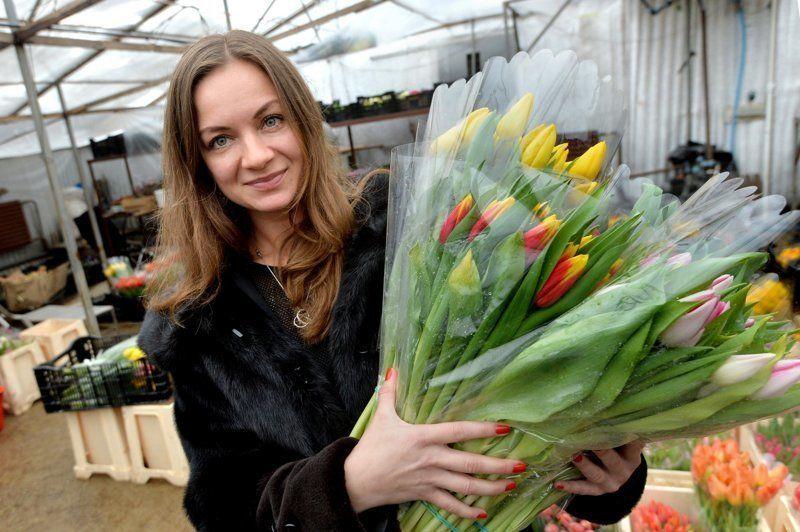Фото цветов на 8 Марта