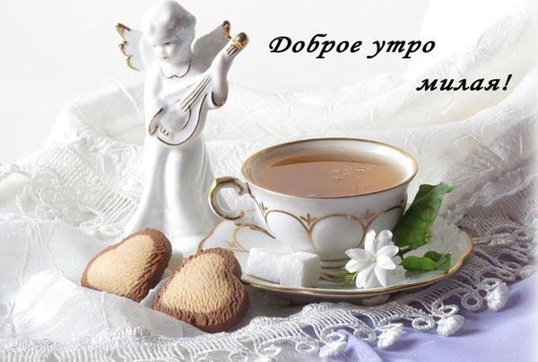 С Добрым утром любимая