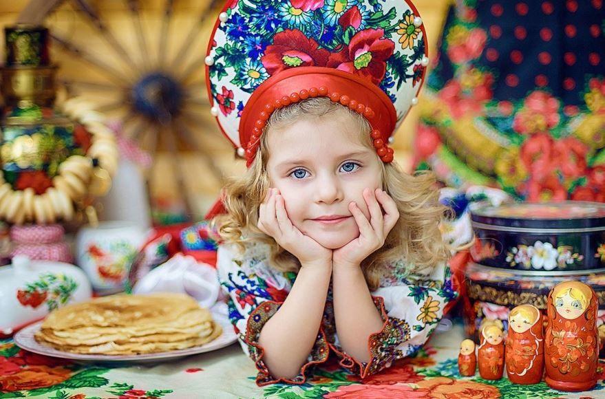 Праздник Масленица детям