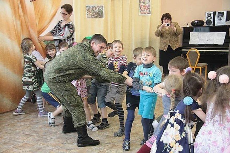 Фото детей на 23 февраля