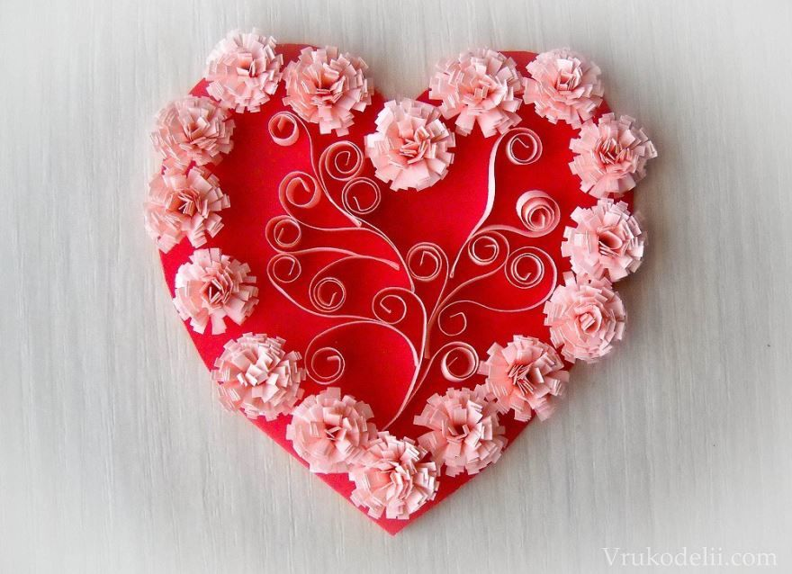 Открытки с днем Святого Валентина, своими руками