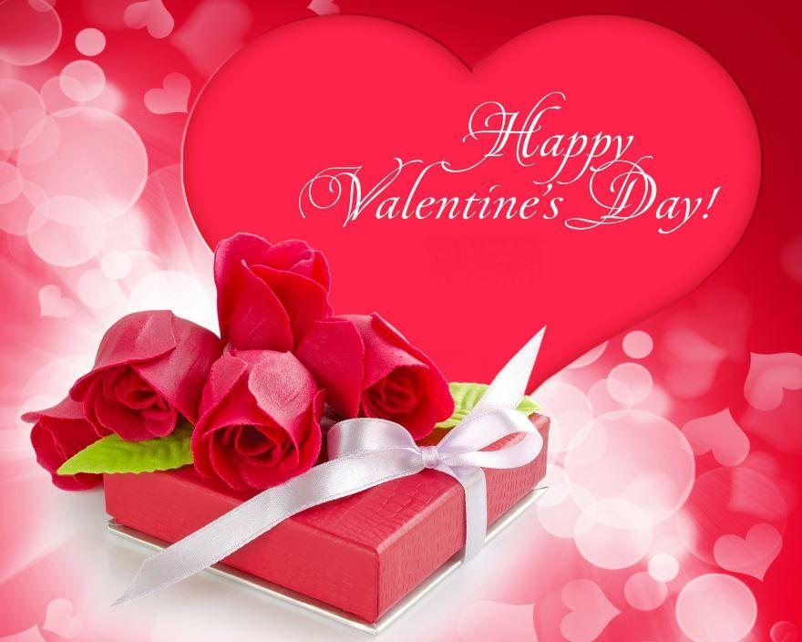 Скачать бесплатно красивую открытку с днем Святого Валентина