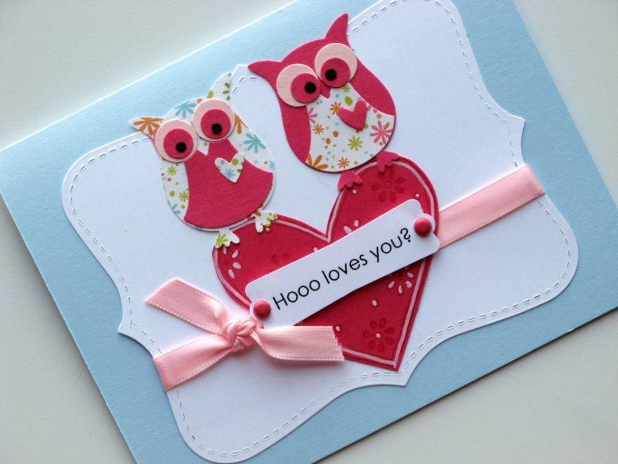 Открытки день Святого Валентина, своими руками