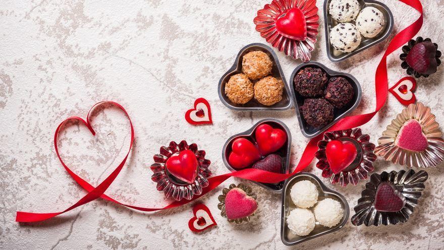 Поздравления с днем Святого Валентина, подарки