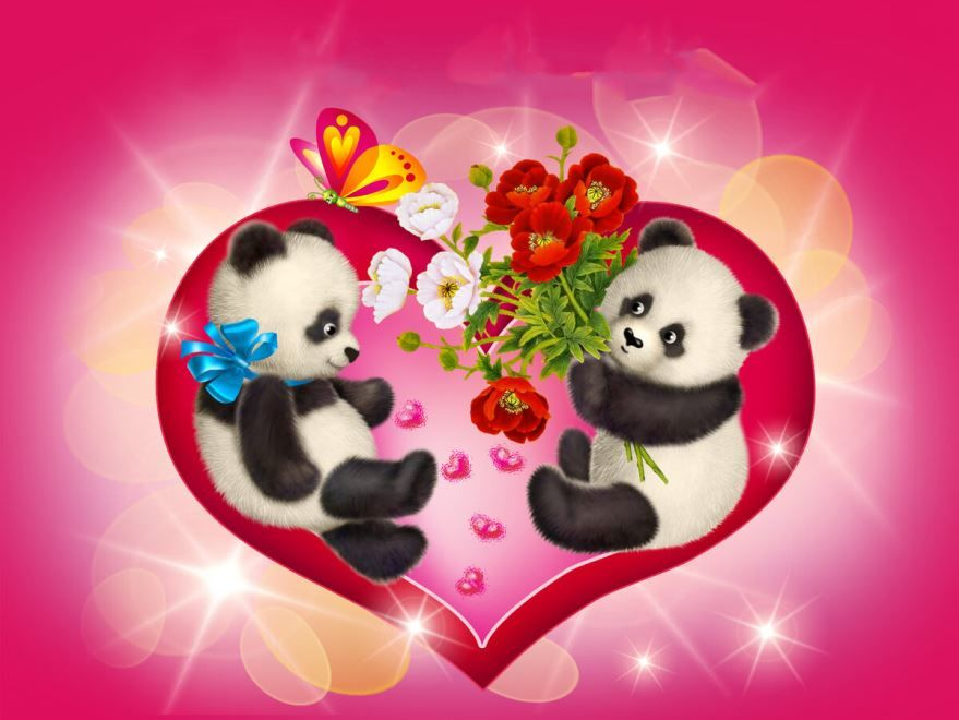 Прикольные картинки на день Святого Валентина