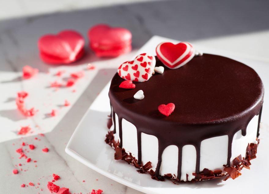 Торт любимому на день Святого Валентина