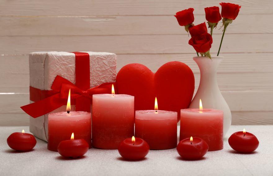 Поздравление с днем Святого Валентина, друзьям