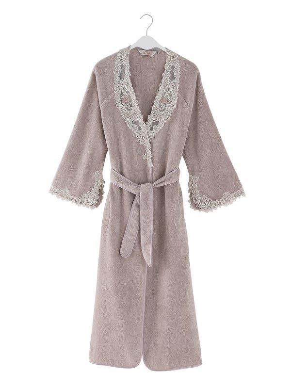 Подарок маме на день рождения - махровый халат