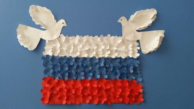 Поделки ко дню России, своими руками