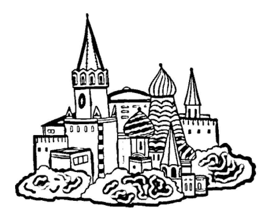 Скачать раскраски день России, для детей бесплатно