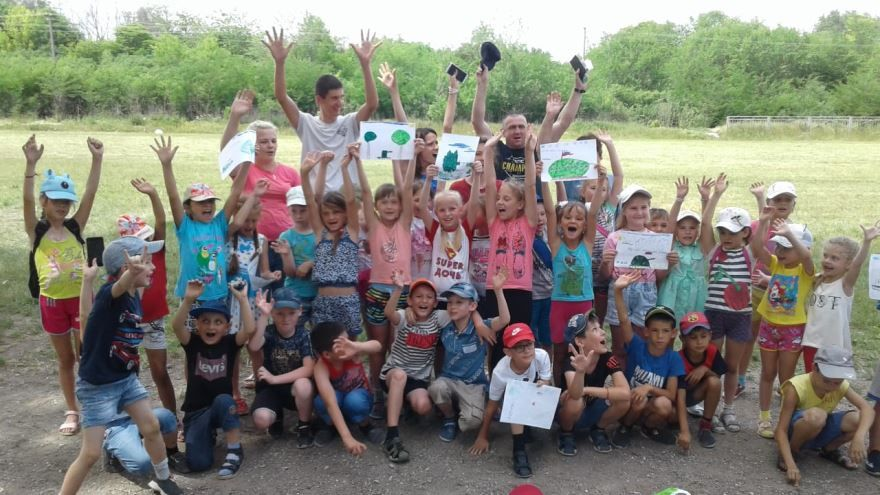 Мероприятия ко дню России в летнем лагере