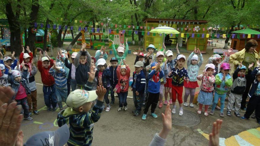 Праздник в детском саду посвященный дню России
