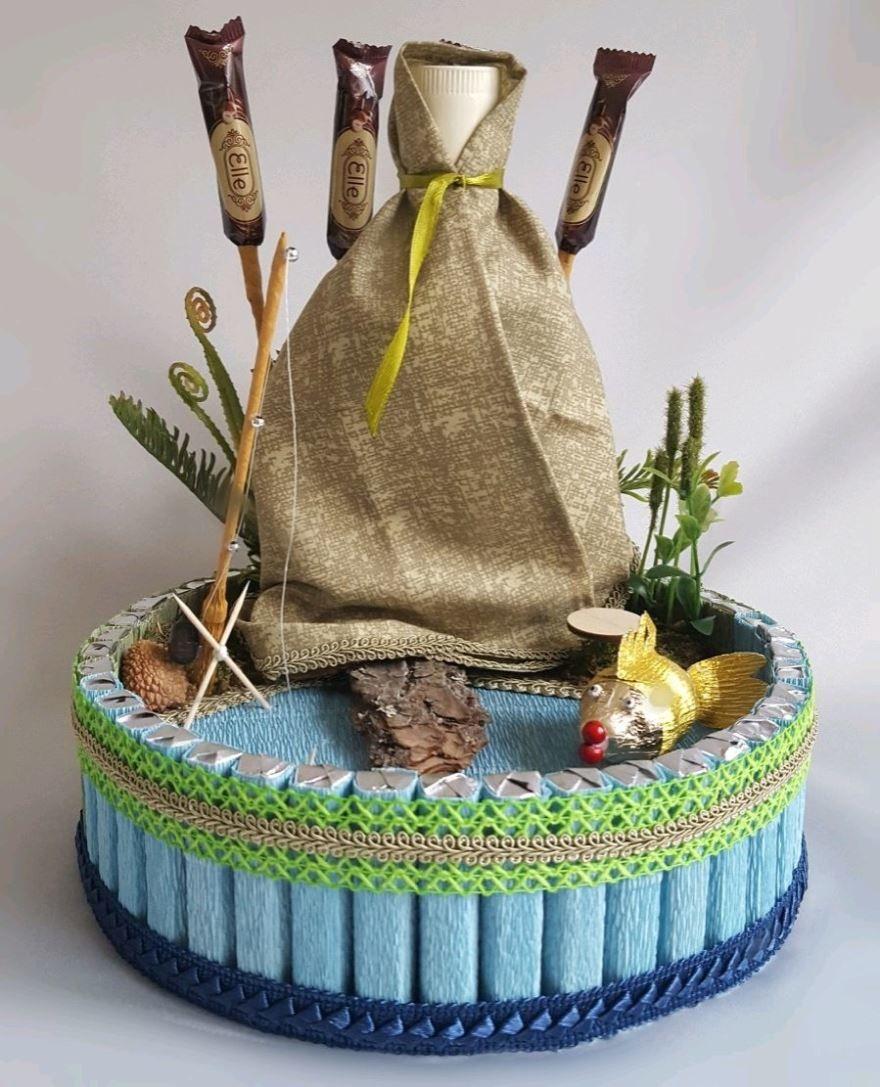 Подарки, день рыбака