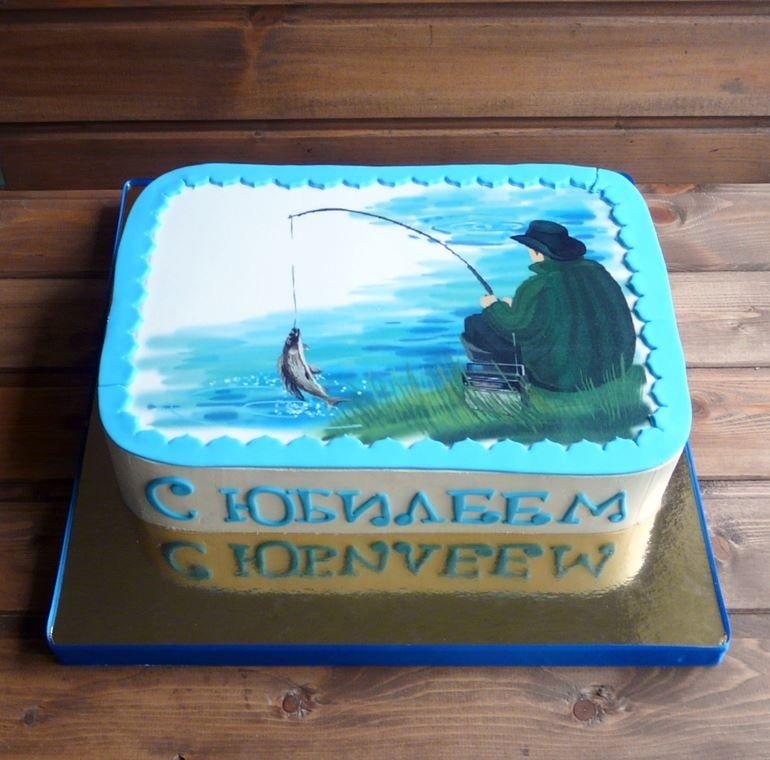 Торт на день рыбака, фото