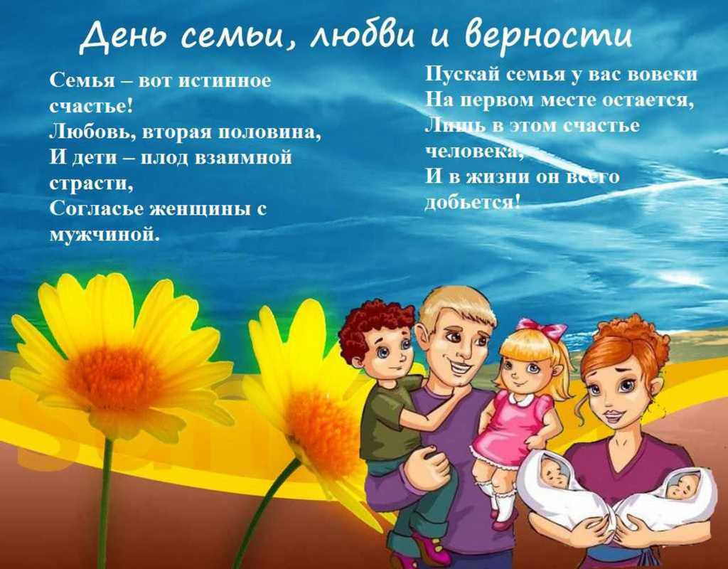 День семьи, любви и верности, картинки бесплатно