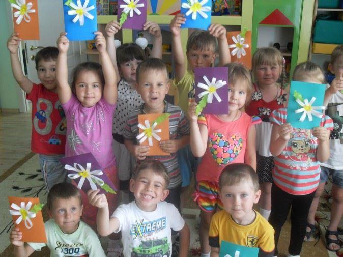 День семьи, любви и верности в доу - детские поделки