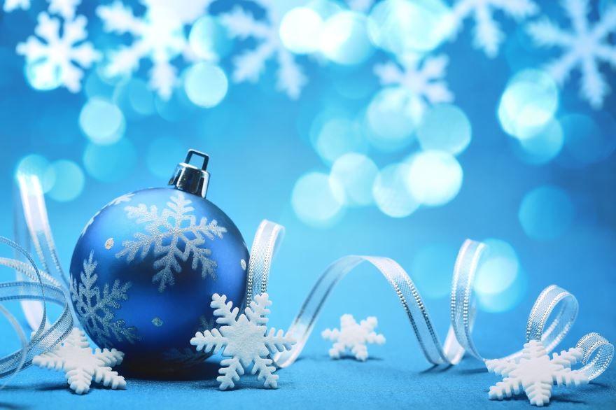 Красивая открытка с Новым годом, бесплатно