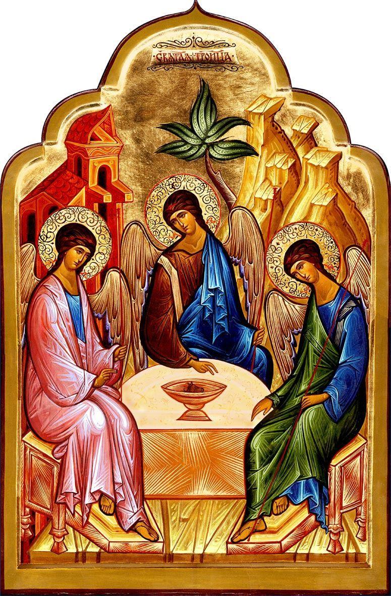 16 июня праздник в России - день Святой Троицы
