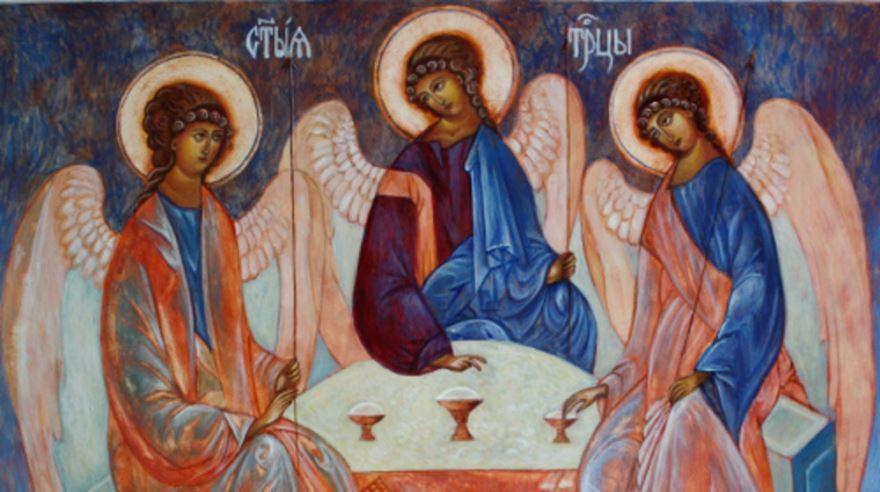 Какой церковный праздник в России, в 2019 году день Святой Троицы