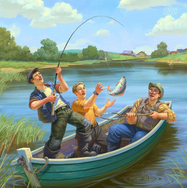 Скачать картинку - всемирный день рыболовства, бесплатно