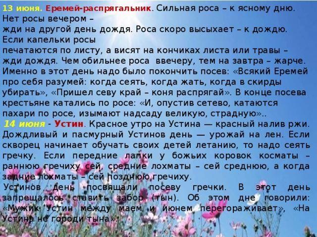 13 июня какой праздник в России?