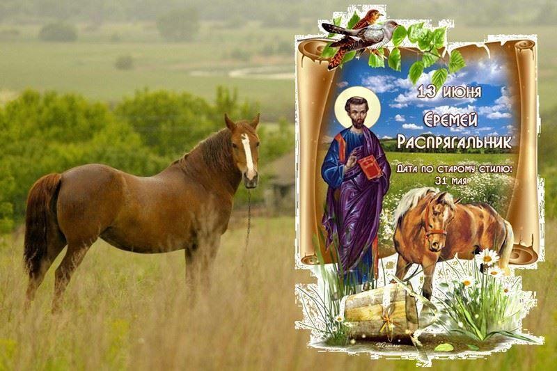 13 июля церковный праздник - Еремей Распрягальник
