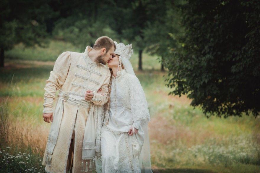 Русские Свадьбы фото в русском-народном стиле