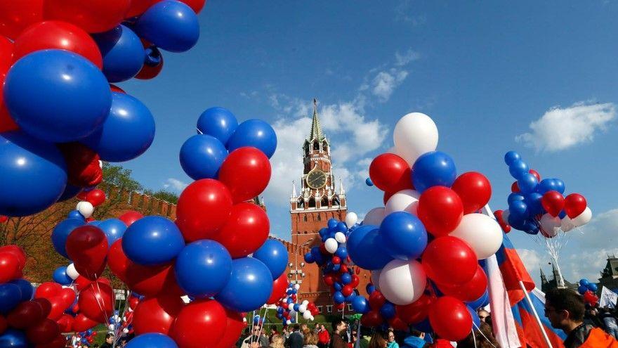 День России на улице в детском саду фото