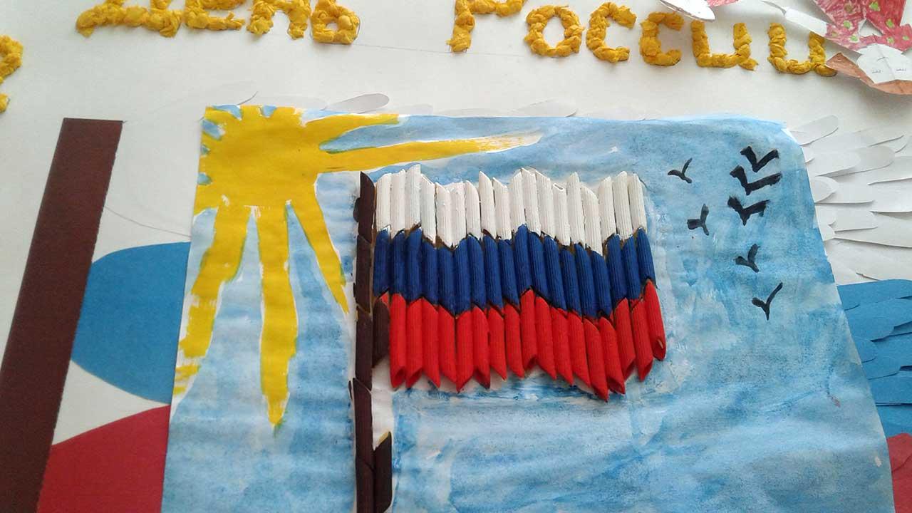 Поделки своими руками день России детские