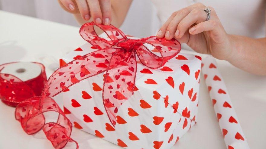 Подарок день Святого Валентина своими руками