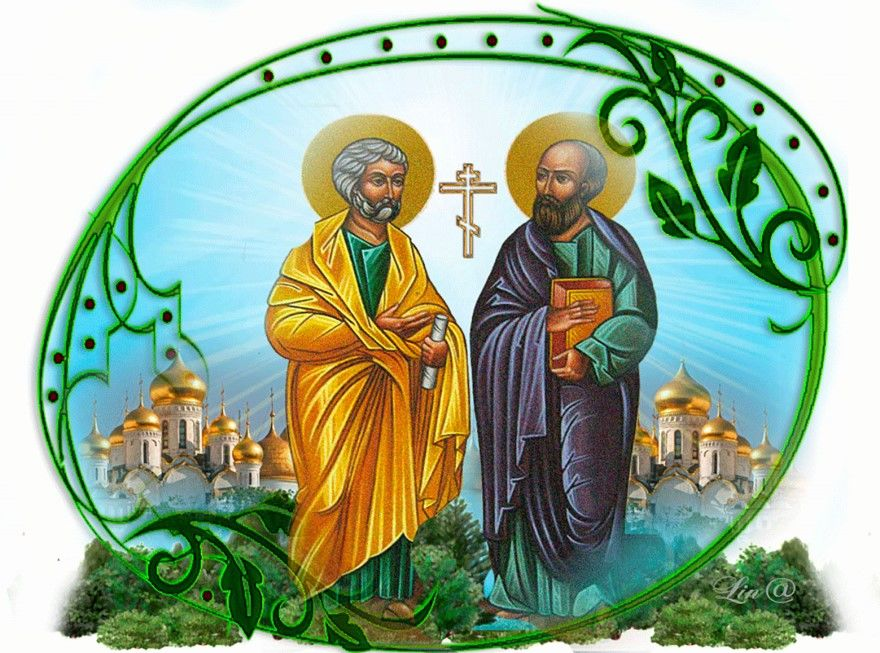 Церковные праздники в июле 2021 года, в России по дням: 9 июля Давид земляничник, 12 июля Память первоверховных апостолов Петра и Павла.