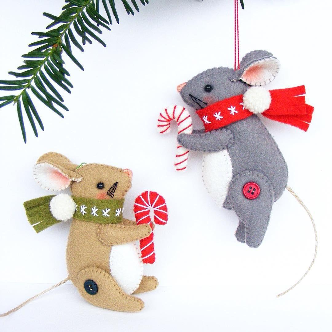 Мышь Новый год своими руками большая игрушка