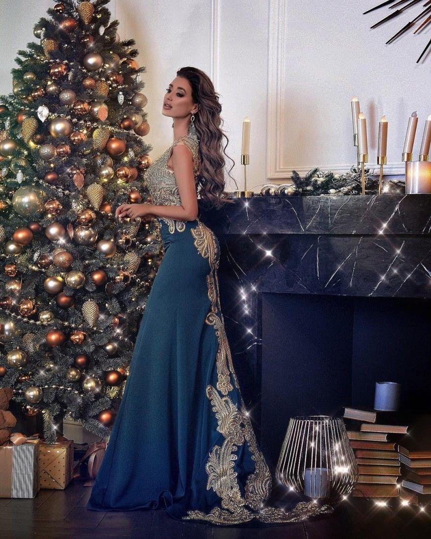 Платье Новый год 2020 модные девочек женщин