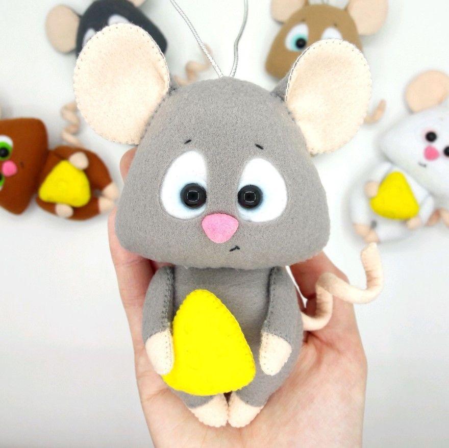 Поделки на Новый год мыши крысы символ