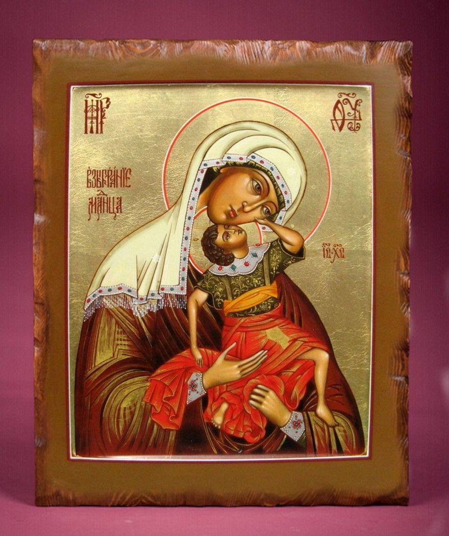 Икона Божией Матери Взыграние церковный праздник
