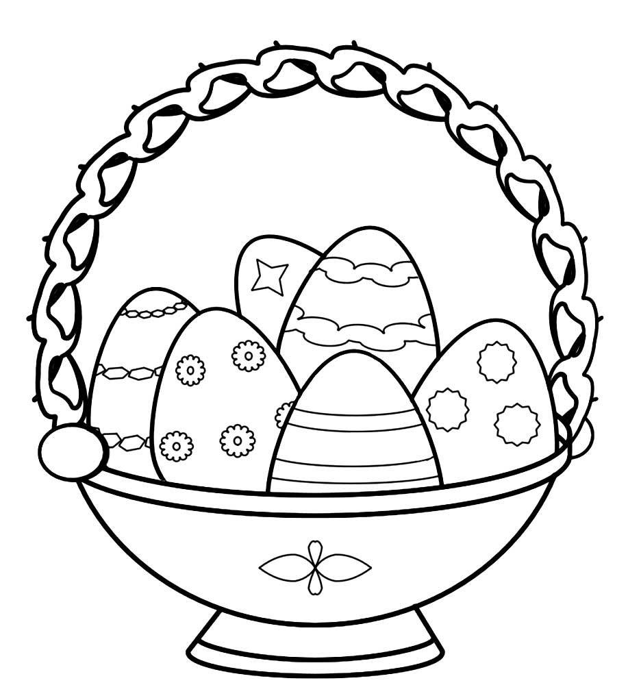 Нарисовать пасху кулич яйцо карандашом поэтапно как