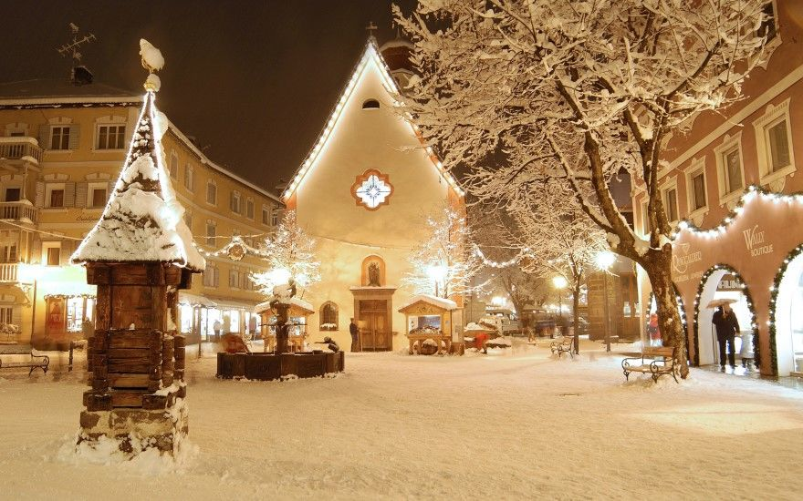 Фото Рождество Христово храм красивые зима