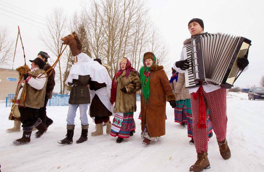 Рождество Христово России традиции фото какого числа